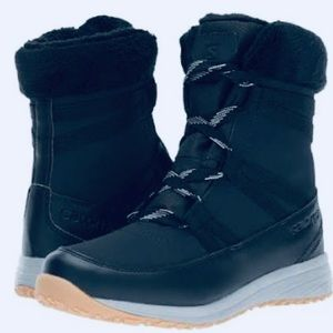 Salomon Heika Black Women's Hiking Boots 8.5